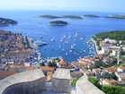 A view of the city Hvar from the tower