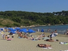 The famous sandy beach Przina in  Lumbard - ideal for small children, only 2 km away from the apartments