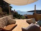 Lounge Chill-out Terrace with a spectacular view - Luxury apartments Sunshine with pool