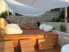 Luxury apartments Sunshine with pool, Korcula - Chill out lounge terrace above the pool.
