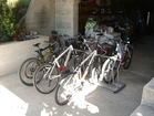 Free bikes for the guests of Viganj apartments