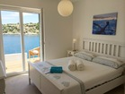 View from the cozy bedroom to the sea -  apartment by the sea, Korcula Island