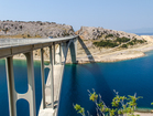 Bridge to Krk Island - vacation house Sunny Rock, Baska town
