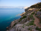 Rocky path over the sea - vacation house Sunny Rock, Croatia
