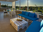 Modern and spacious terrace - 2-bedroom apartment Summer Adventure, Sibenik