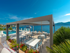 Boutique hotel by the sea - enjoy your breakfast and morning coffee with sea view